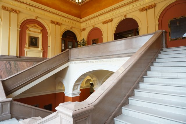 Penn Law Great Hall & Grand Staircase
