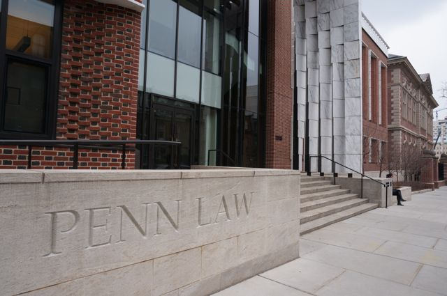 Entrance to Penn Law