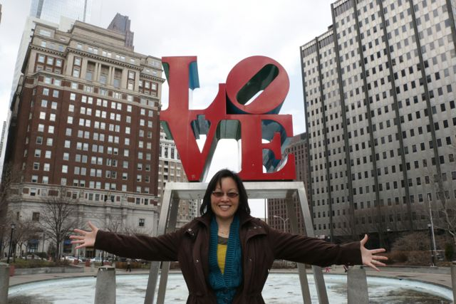 Peg & Love Sculpture, Philly