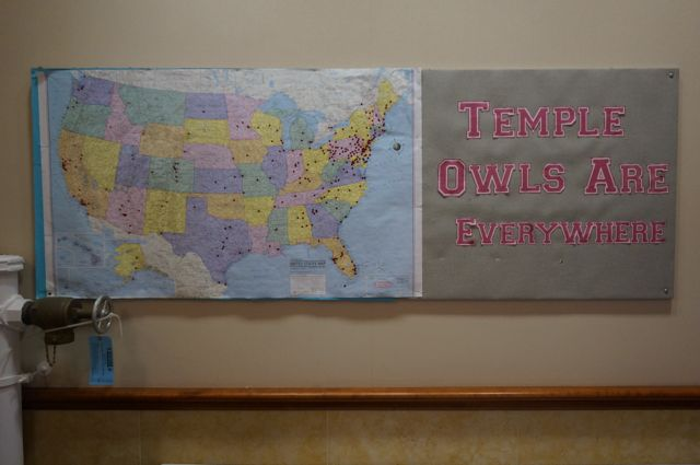 Temple Law Bulletin Board