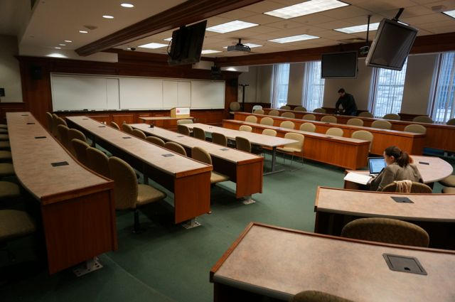 Temple Law classroom