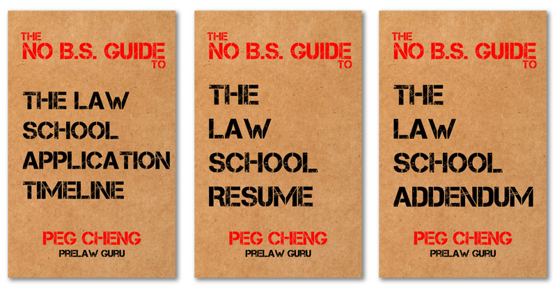 The No B.S. Guides to applying to law school