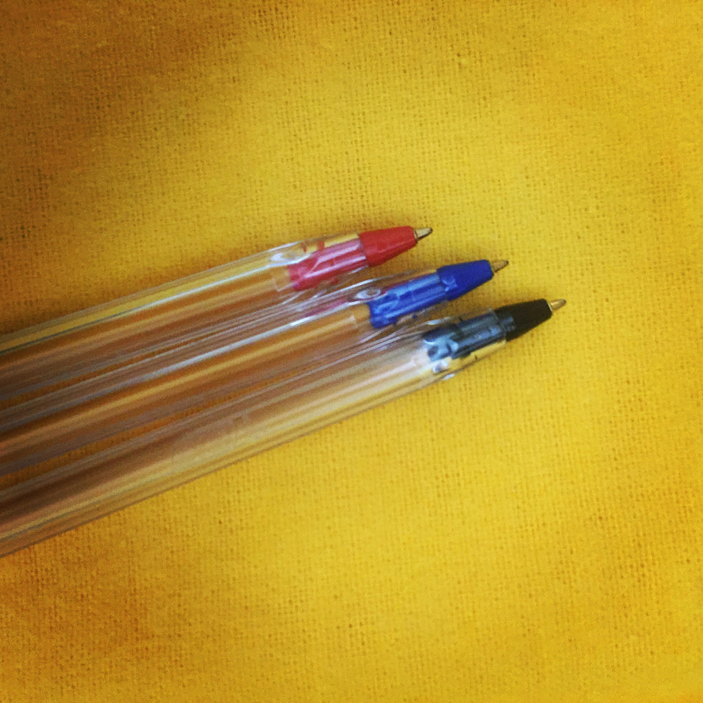 pens-colored