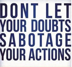 doubts-actions